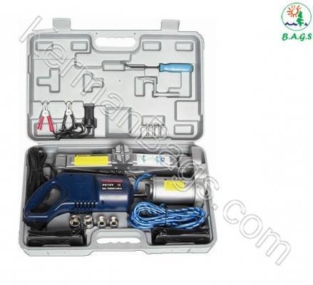 باکس جک برقي و آچال پیچ بازکن خودرو (مدل فلزی - 2 تا 3 تن) آمریکا ویژه