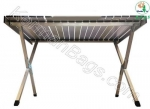 Large aluminum folding table