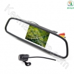 3.5-inch 3.5-inch car mirror with special rear-facing rear-facing camera