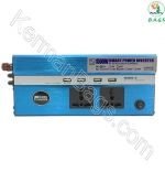 Inverter 1500W USB 4 Car with two full power sockets (special)