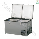 Italian refrigerator Andlbil 65 liters large steel box