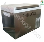 New Philadelphia COOL DESIGN refrigerator 25-liter steel car