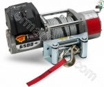 Cable winch 6500 pounds with control