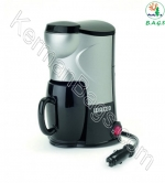 Tea and coffee maker inside the professional car style