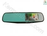 آینه خودرو مانیتور دار 4.3 اینچ مدل C-mx-50m