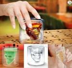 لیوان شیشه ای جمجمه ویژه