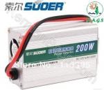 تبدیل برق ماشین به برق شهری (Suoer-SDA-200W)