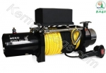 Synthetic rope winch 9500 pounds