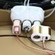 شارژر فندکی خودرو سه کانال ویژه