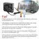 بخاری 12DC فندکی خودرو سبک و سنگین قابل حمل مسافرتی (ویژه)