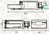 یخچال و فریزر اندلبی ایتالیا 36 لیتر زیر سقفی (فابریک ماشین سنگین ولوو ، اف هاش ، داف ، اکسور)