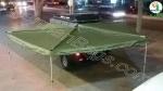 سایبان سقفی خفاشی خودرو ویژه